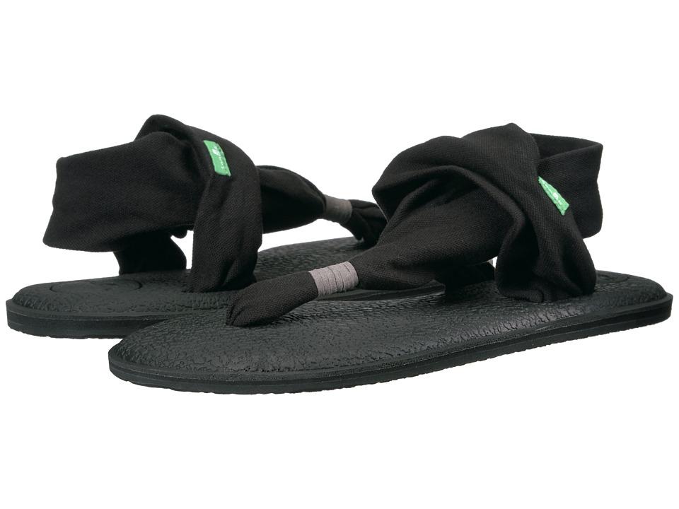 Sanuk Yoga Sling 2 (Black) Sandals