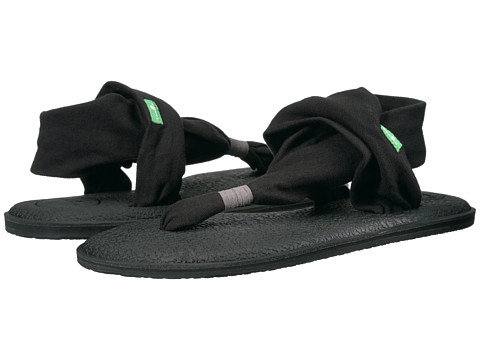Sanuk Yoga Sling 2 (Black) Women's Sandals