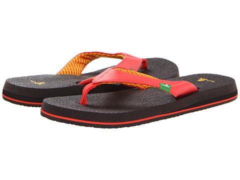 Sanuk Yoga Mat (Coral) Women's Sandals