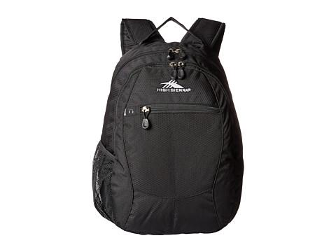 High Sierra Curve Daypack - Black