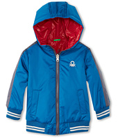 United Colors of Benetton Kids - Boys' Reversible Logo Jacket (Toddler/Little Kids/Big Kids)