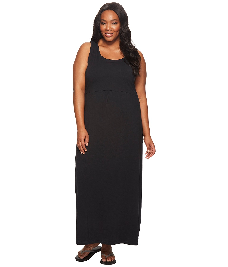 Columbia - Plus Size Reel Beauty II Maxi Dress (Black) Women's Dress plus size,  plus size fashion plus size appare