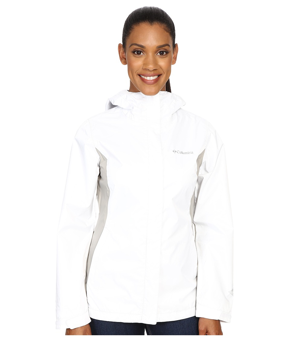 Columbia Arcadia IItm Jacket (White/Flint Grey) Women