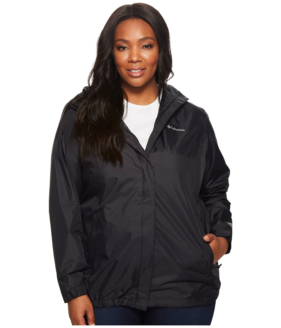 Columbia Plus Size Arcadia IItm Jacket (Black) Women