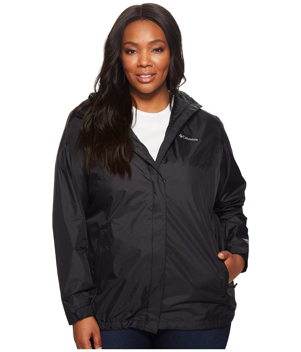 Columbia Plus Size Arcadia II Jacket (Black) Women