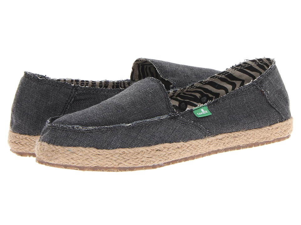Sanuk Fiona (Charcoal) Slip-On Shoes