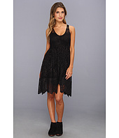 Free People - Kristal Lace Salinas Foil Print Dress