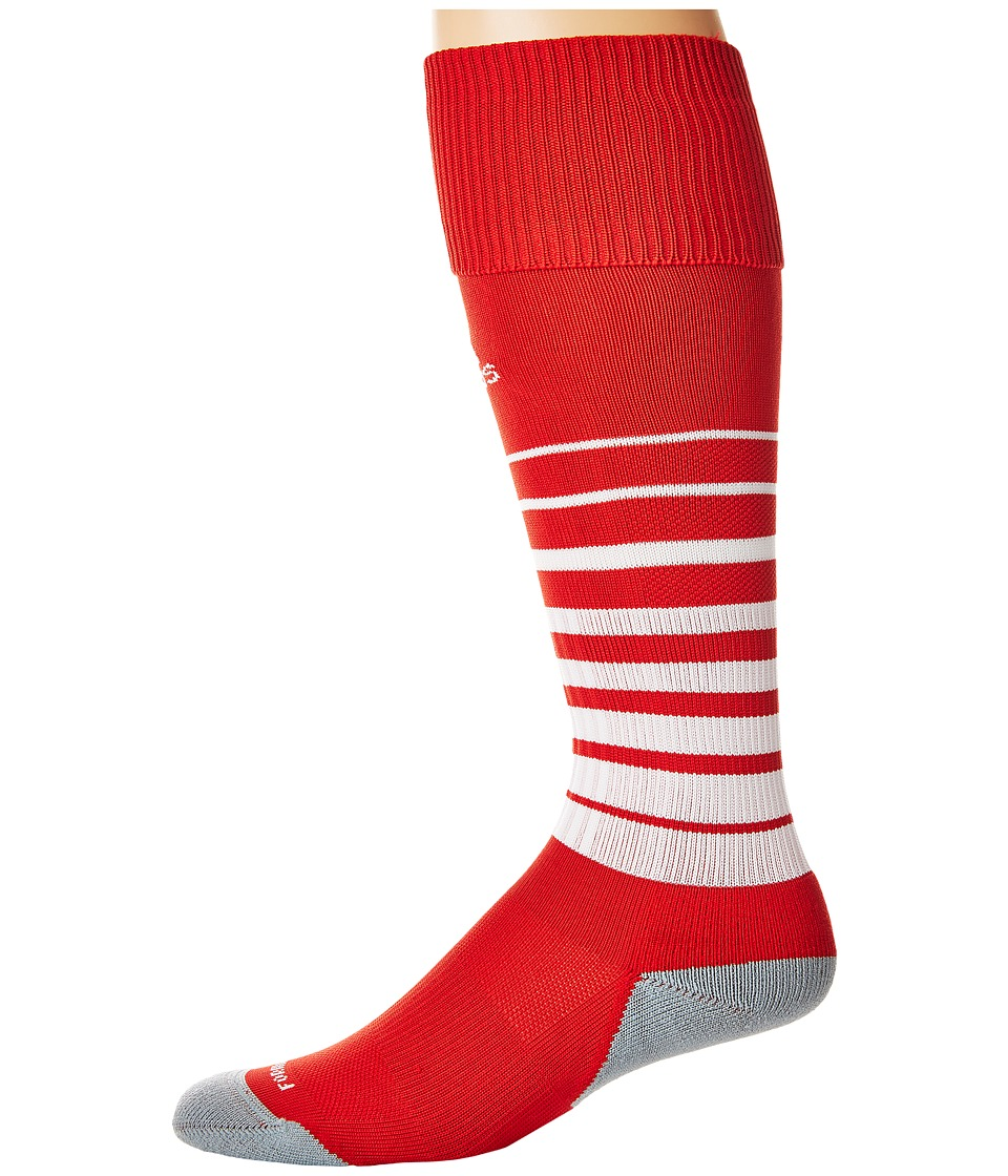 adidas Kids Team Speed Soccer Sock (Little Kid/Big Kid) (University Red/White) Kids Shoes