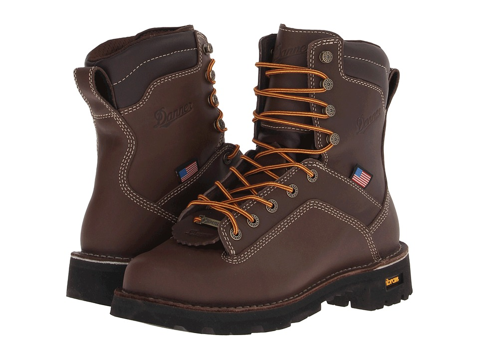 Danner Quarry USA (Brown) Men's Work Boots