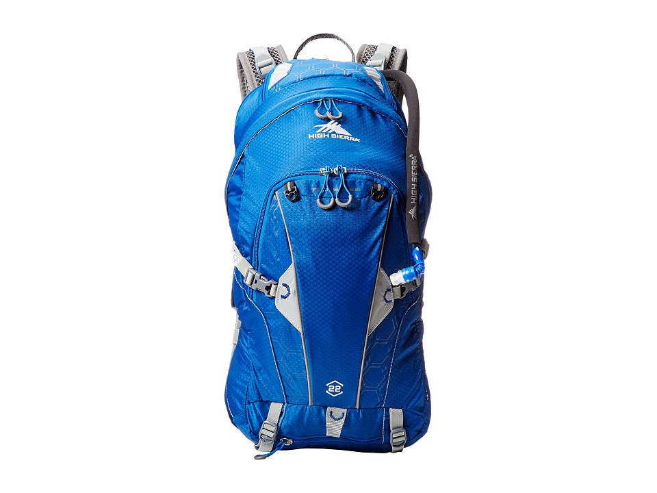 High Sierra Moray 22L Hydration Pack Royal Cobalt/Silver Luggage