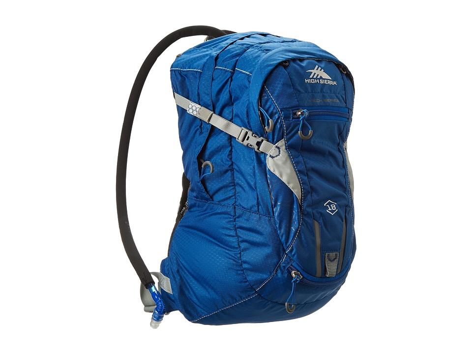 High Sierra Marlin 18L Hydration Pack Royal Cobalt/Silver Luggage