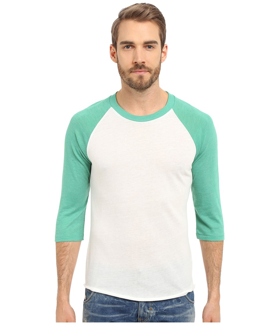 Alternative Baseball Tee Eco True Green Mens T Shirt