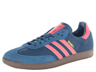 adidas Originals - Samba (Tribe Blue/Red Zest/Gum) -