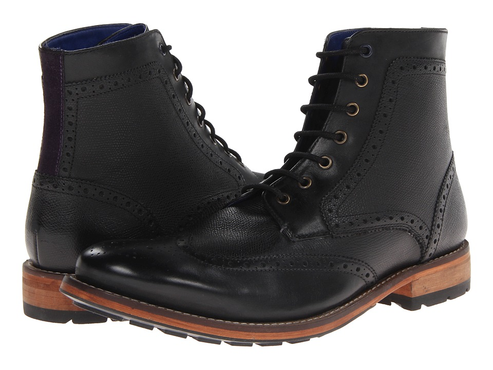 Ted Baker Sealls 2 (Black Leather) Men
