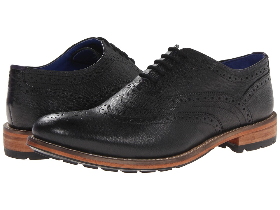 Ted Baker Guri 7 (Black Leather) Men