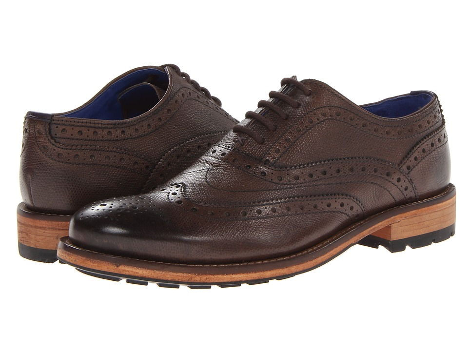 Ted Baker Guri 7 Brown Leather Mens Shoes
