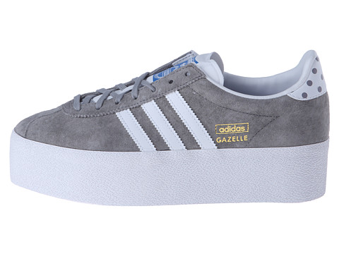 adidas gazelle gris plataforma
