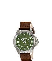 Timex - Expedition™ Rugged Metal Field Leather Strap Watch