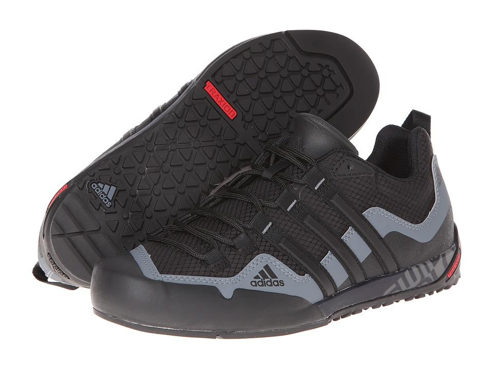 adidas Outdoor - Terrex Swift Solo (Black/Black/Carbon) Men