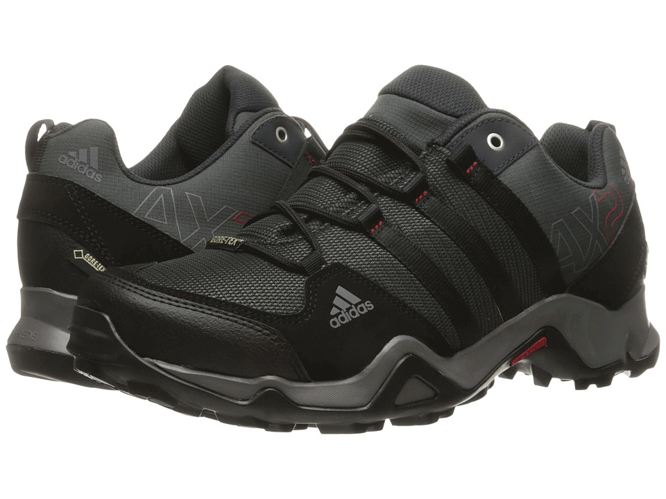 Image of adidas Outdoor - adidas Outdoor - AX 2 GTX (Dark Shale/Black/Light Scarlet) Men's Shoes