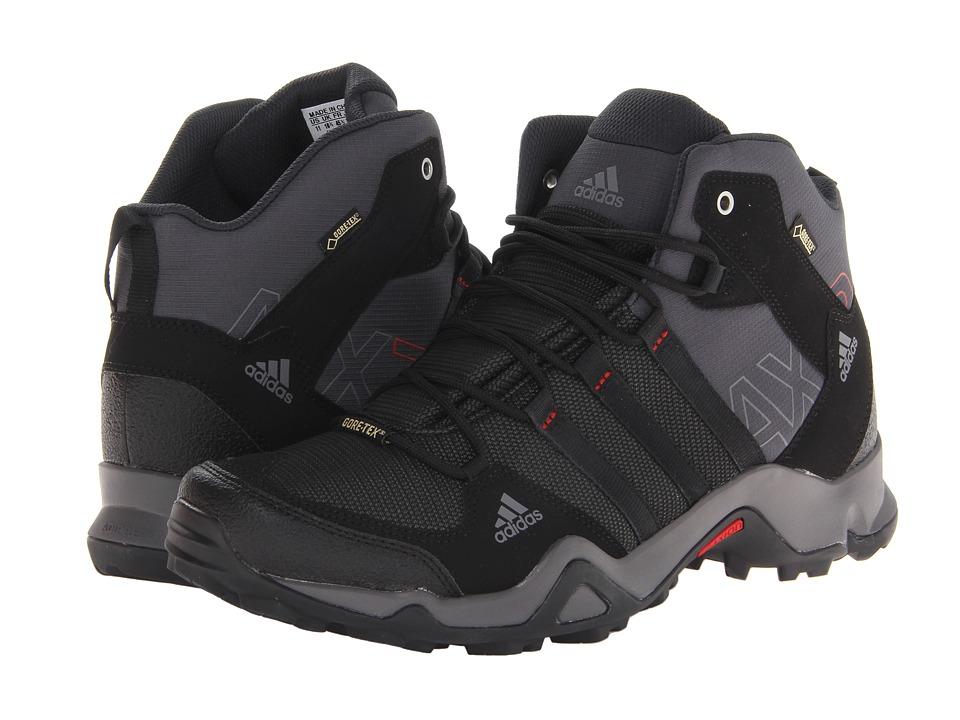 adidas Outdoor - AX 2 Mid GTX (Dark Shale/Black/Light Scarlet) Men