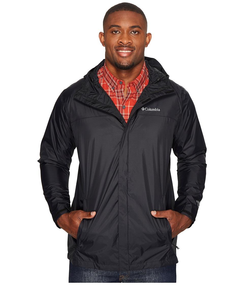 Columbia Watertight II Jacket Tall (Black) Men