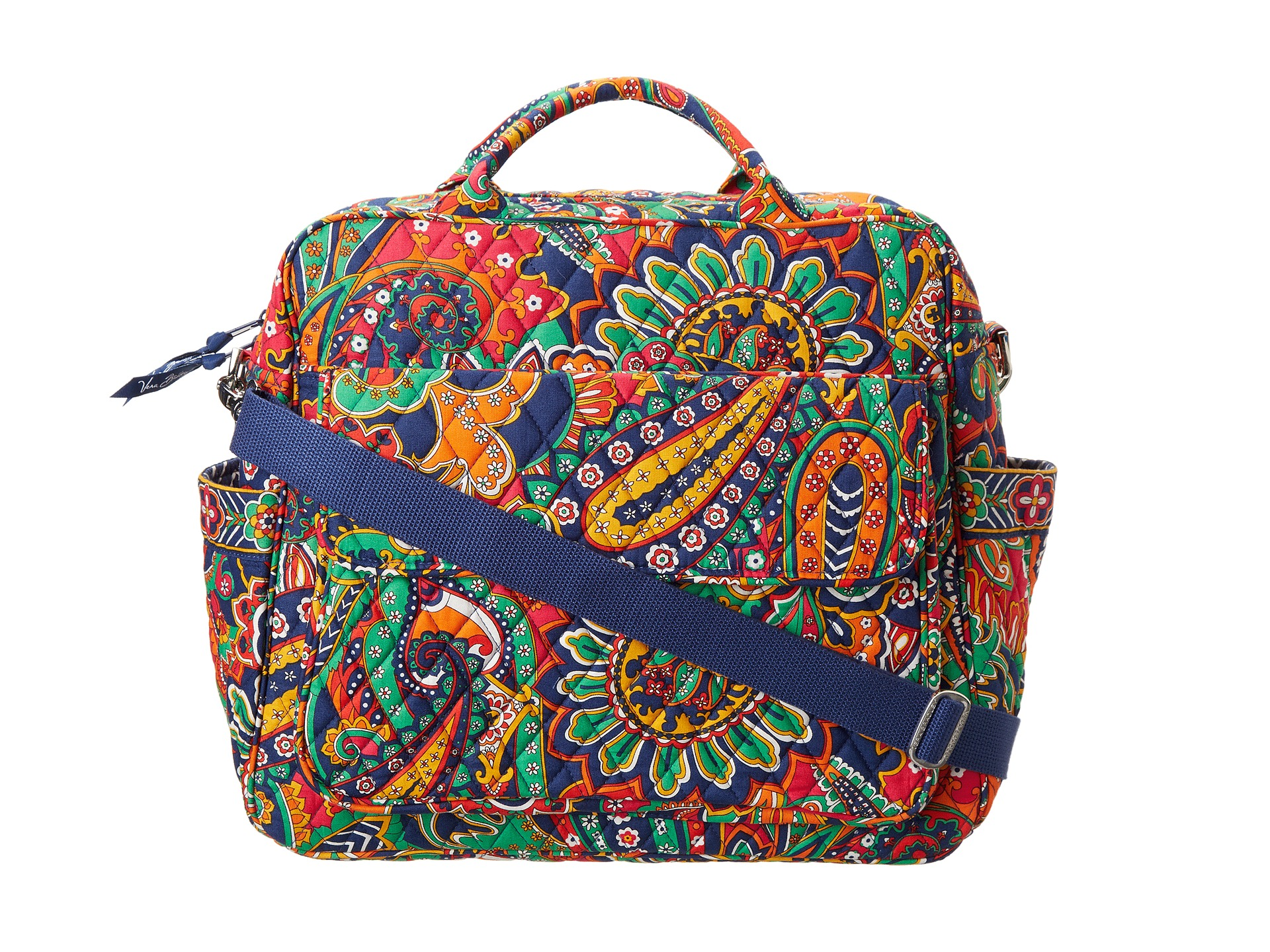 vera bradley convertible baby bag shipped free at zappos. Black Bedroom Furniture Sets. Home Design Ideas