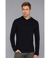 John Varvatos Star U.S.A. - Pima Cotton Raw Edge L/S Hoodie