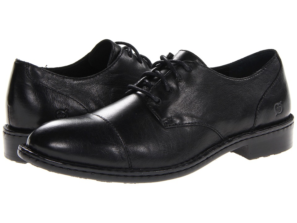 Born - Hamburg (Black Full Grain) Men