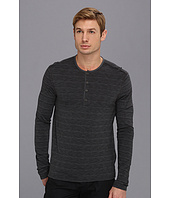 John Varvatos Star U.S.A. - Pima Cotton L/S Button Henley