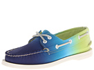 Sperry Top-Sider - A/O 2 Eye (Green Canvas Ombre) - Footwear
