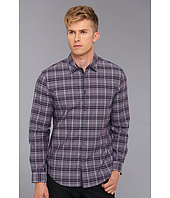 John Varvatos Star U.S.A. - Luxe Turnback Placket Plaid Sport Shirt