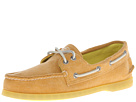 Sperry Top-Sider - A/O 2-Eye Stonewashed (Yellow) - Footwear