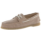 Sperry Top-Sider - A/O 2-Eye Stonewashed (Brown) - Footwear