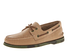 Sperry Top-Sider - A/O 2-Eye Camo Sole (Oatmeal/Army Green) - Footwear