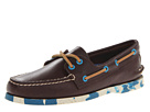 Sperry Top-Sider - A/O 2-Eye Camo Sole (Classic Brown/Blue)