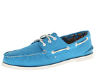 Sperry Top-Sider - A/O 3-Eye Canvas (Blue) - Footwear