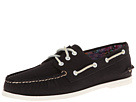 Sperry Top-Sider - A/O 3-Eye Canvas (Black) - Footwear