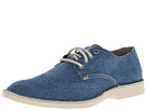 Sperry Top-Sider - The Harbor Wingtip (Navy Canvas) - Footwear