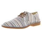 Sperry Top-Sider - The Harbor Plain Toe (Tan Stripe) - Footwear