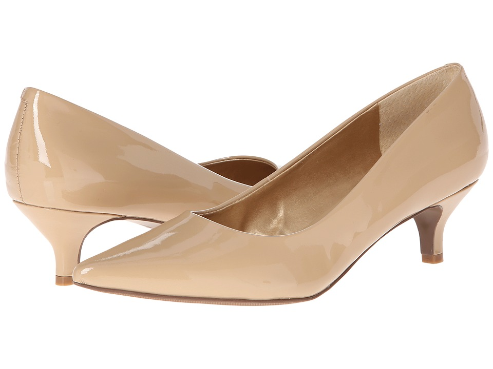 Trotters Paulina (Nude Patent Leather) Women