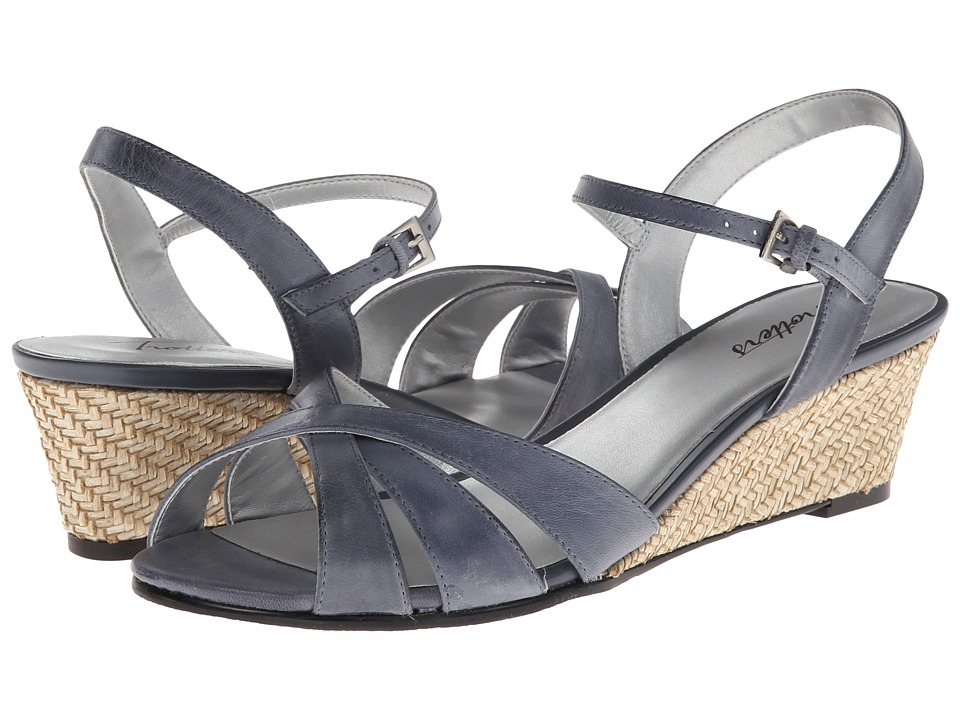 Trotters Mickey (Navy Soft Dull Leather) Women