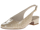 Trotters – Dea (Taupe Patent Croco Leather)