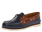 Sperry Top-Sider - Gold A/O 2-Eye (Navy/Tan) - Footwear