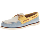 Sperry Top-Sider - Gold A/O 2-Eye (Blue/Ivory/Yellow) - Footwear