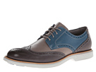 Sperry Top-Sider - Gold Bellingham Wingtip w/ ASV (Dark Grey/Blue) - Footwear