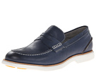 Sperry Top-Sider - Gold Bellingham Penny w/ ASV (Navy) - Footwear