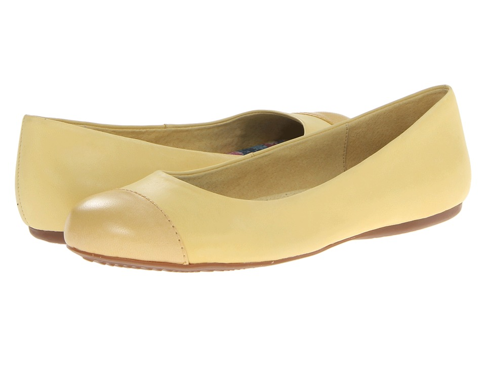 SoftWalk Napa (Pale Yellow/Yellow) Women's Flat Shoes