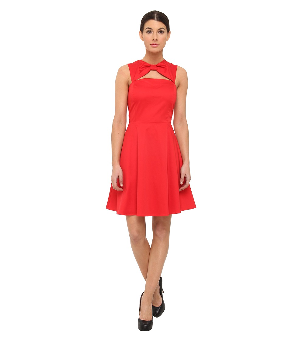 LOVE Moschino Bow Red Dress (Bow Red) Women's Dress