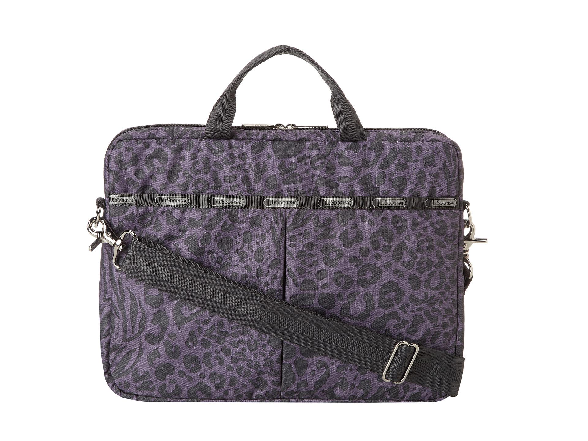 lesportsac 13 quot laptop bag animal zappos free